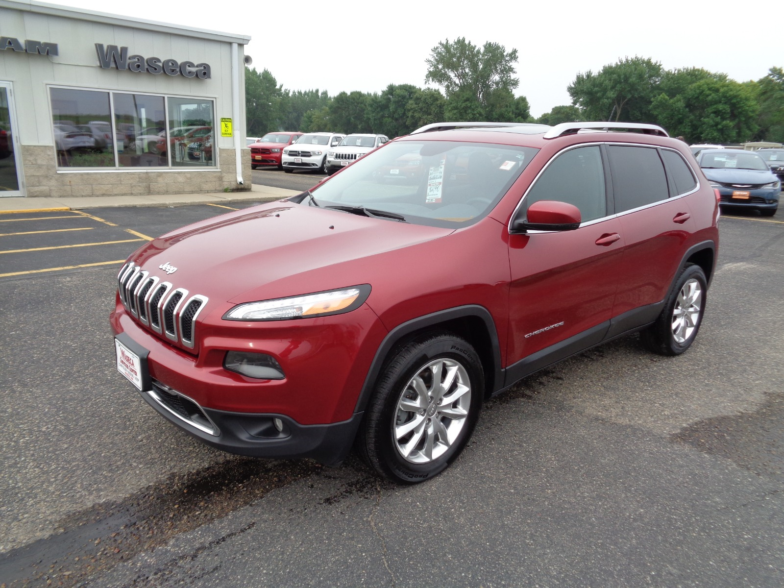 Certified Pre Owned 2015 Jeep Cherokee 4wd 4dr Limited