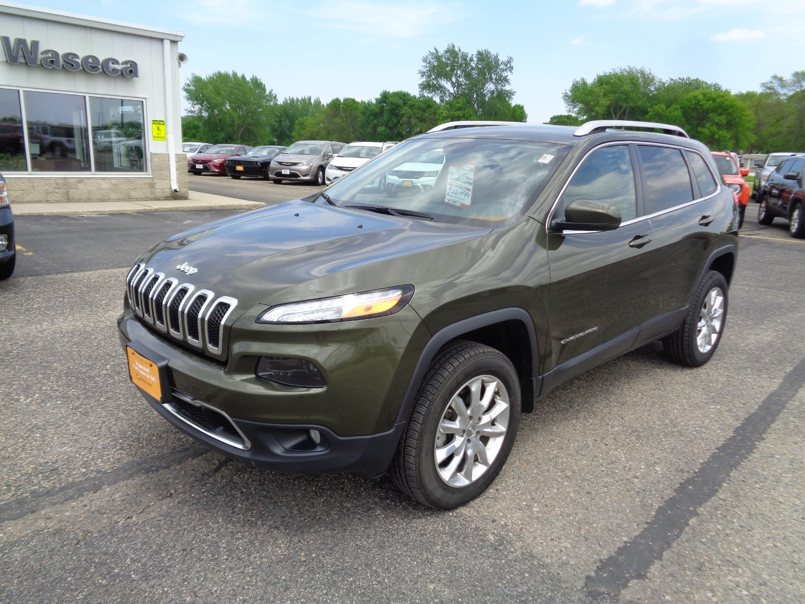 Certified Pre Owned Jeep >> Certified Pre Owned 2016 Jeep Cherokee Limited Sport Utility In