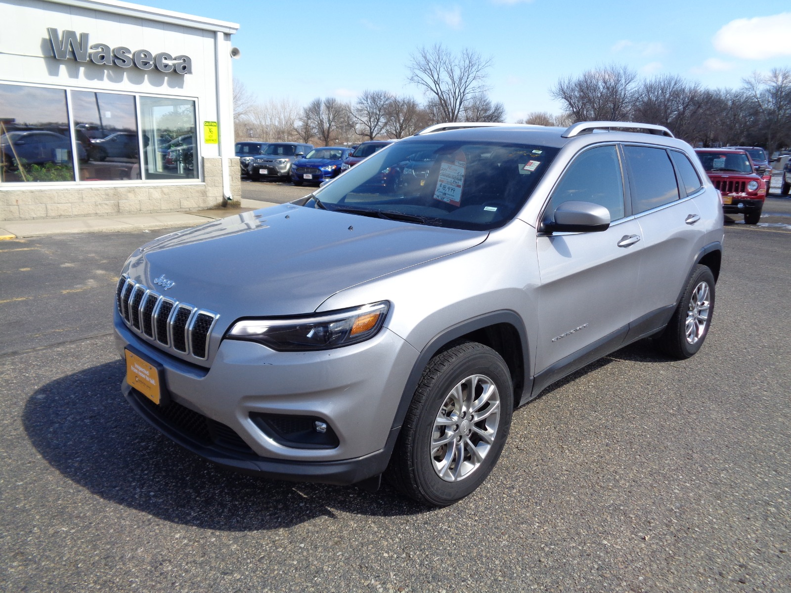 Certified Pre-Owned 2019 Jeep Cherokee Altitude