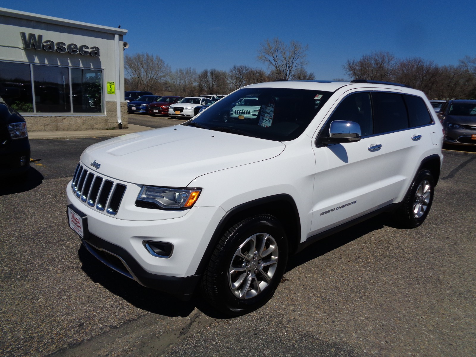 Jeep Certified Pre-Owned >> Certified Pre Owned 2015 Jeep Grand Cherokee Limited Sport Utility