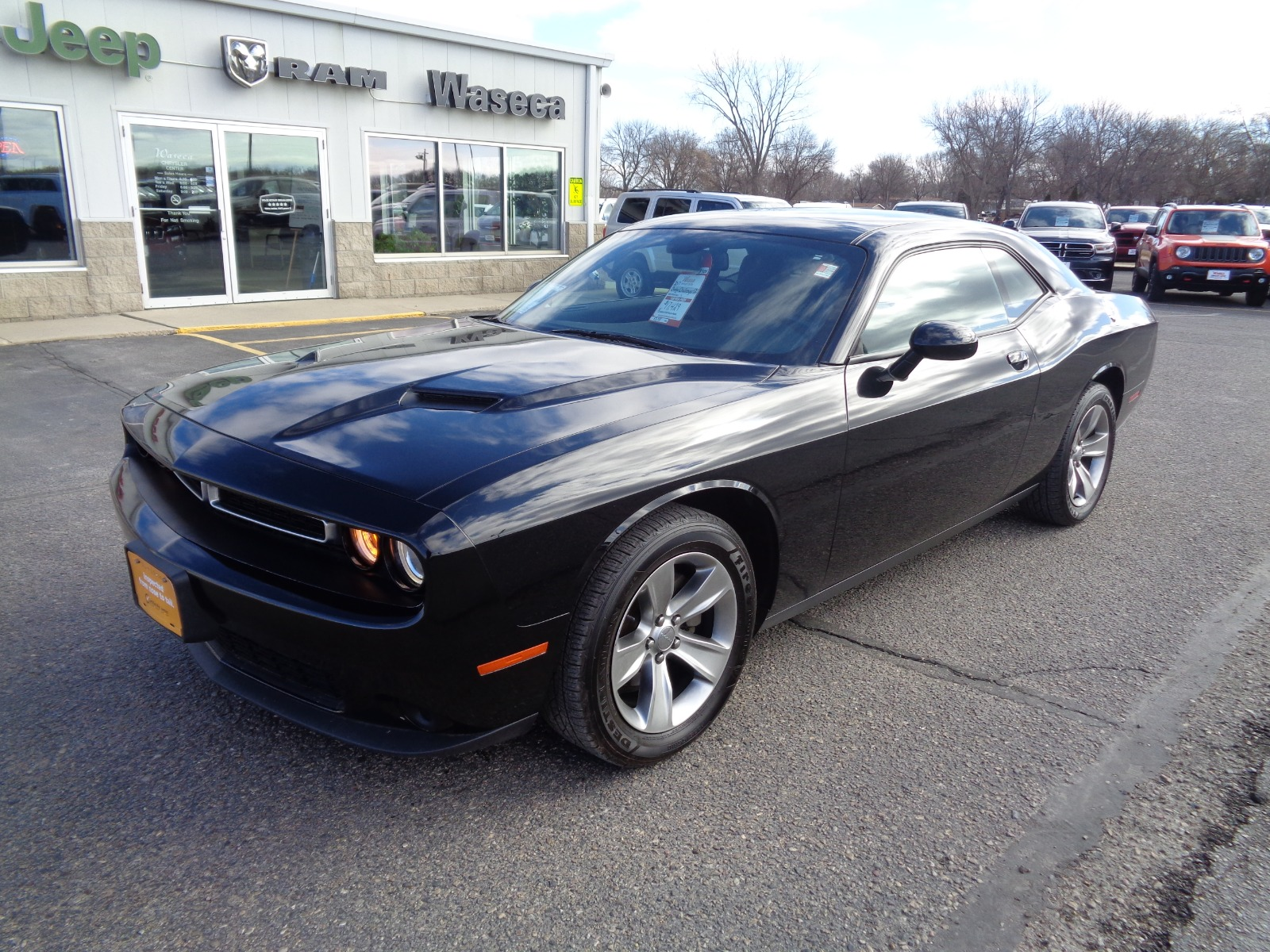 Certified Pre-Owned 2017 Dodge Challenger Sxt Plus
