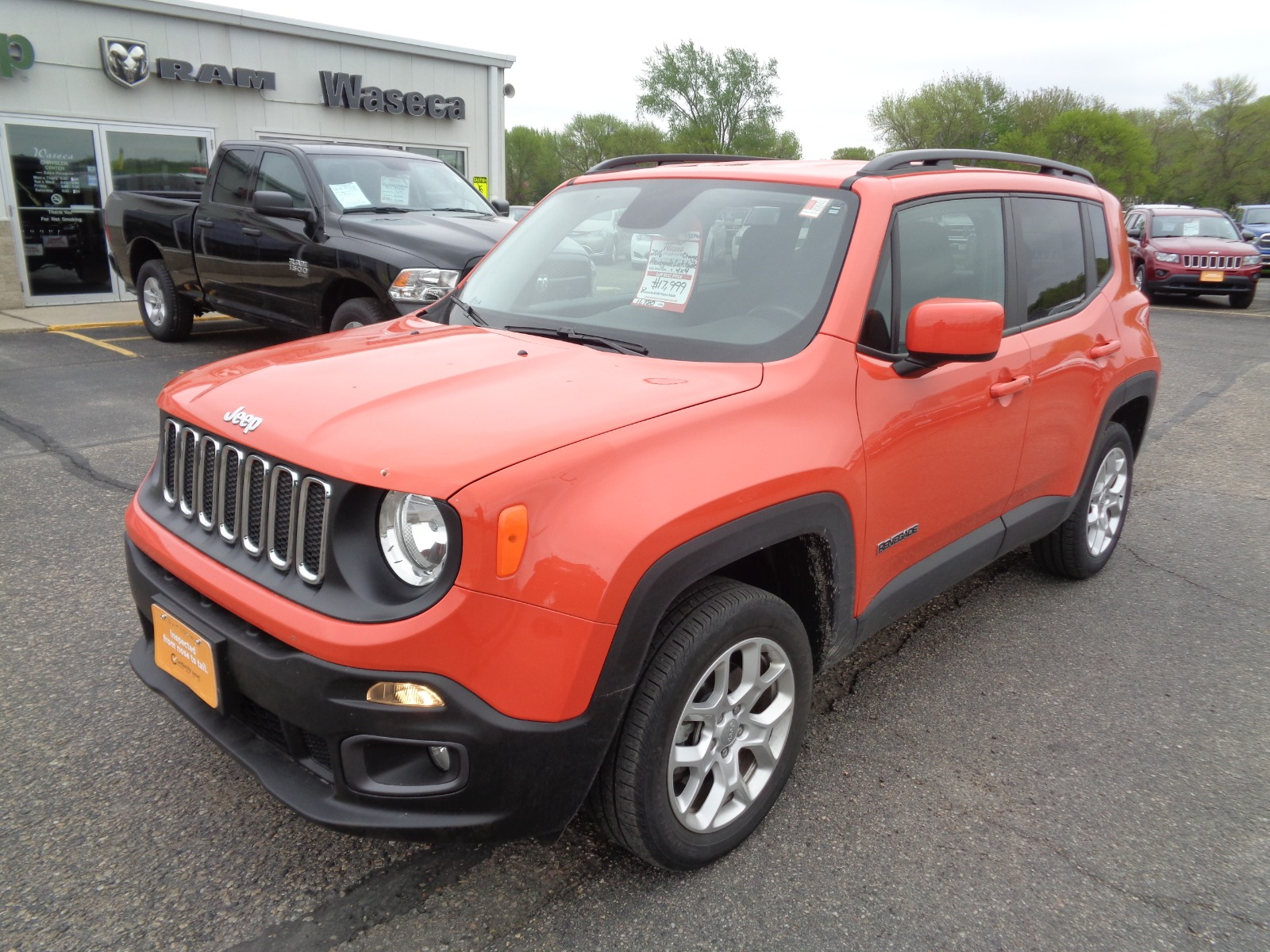 Certified Pre-Owned 2016 Jeep Renegade Latitude 75th Anniversary