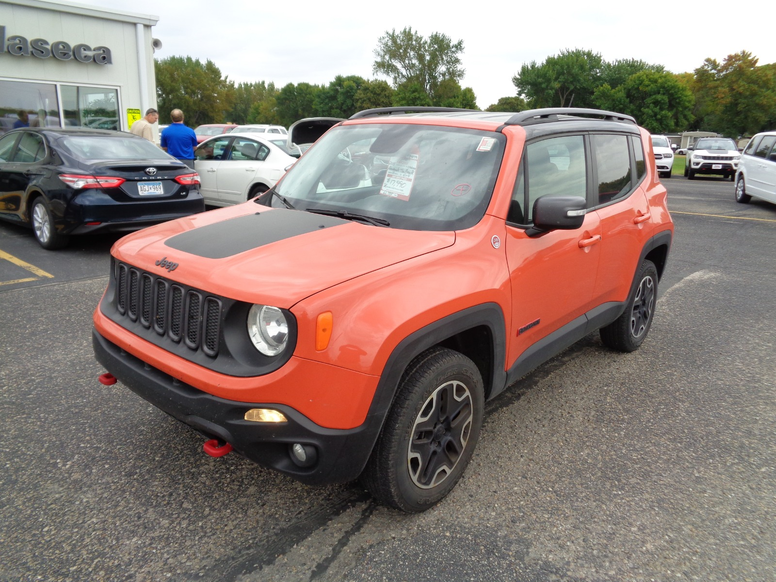 Certified Pre Owned 2015 Jeep Renegade 4wd 4dr Trailhawk
